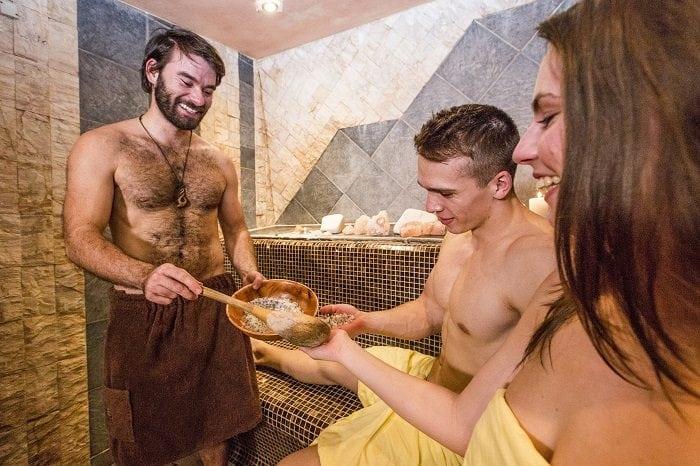 Sauna v Bešeňovej