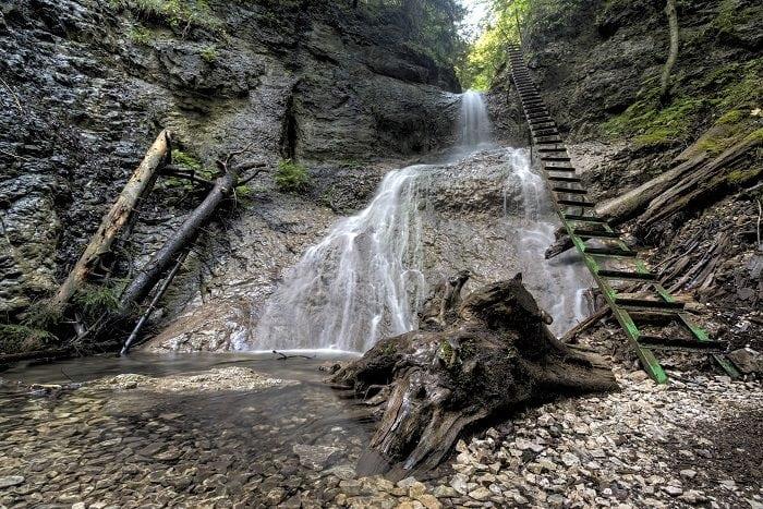 Vodopády Slovenského raja