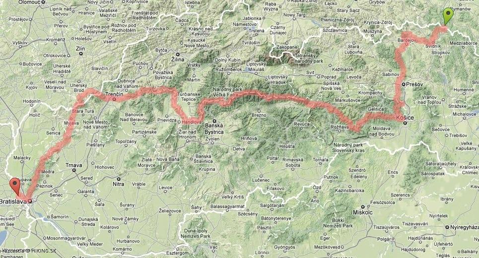 mapa-cesta-snp-turisticka-magistrala