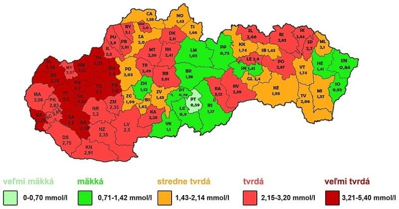 tvrdost-makkost-vody-slovensko