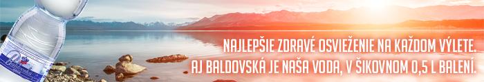 Banner - Baldovská: Zdravé osvieženie
